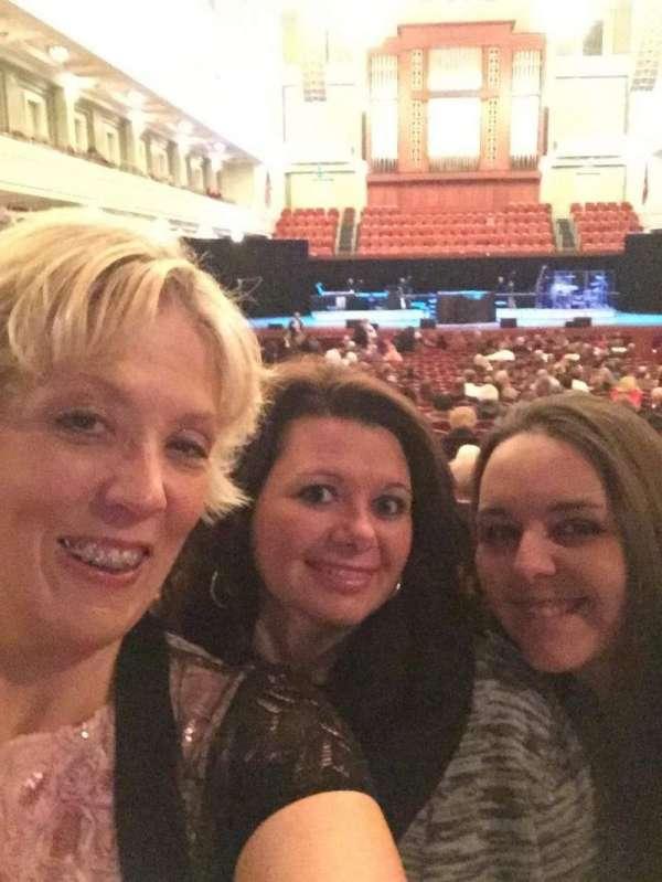 Schermerhorn Symphony Center, section: ORCH, row: W, seat: 9