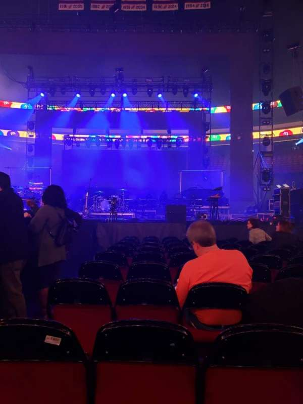 Prudential Center, section: A, row: 10, seat: 2
