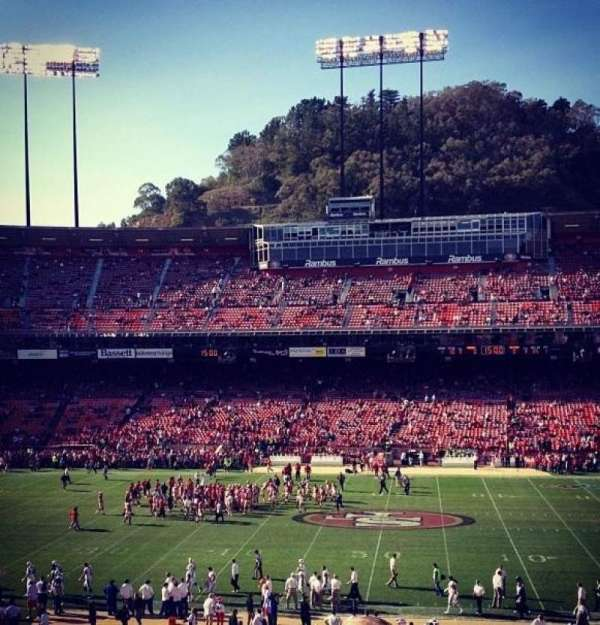 Candlestick Park, section: 31, row: 20