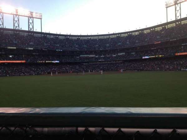 AT&T Park, section: 142, row: 00, seat: 6