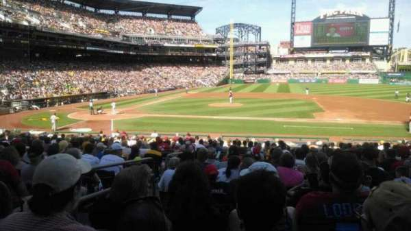PNC Park, section: 110, row: N, seat: 15