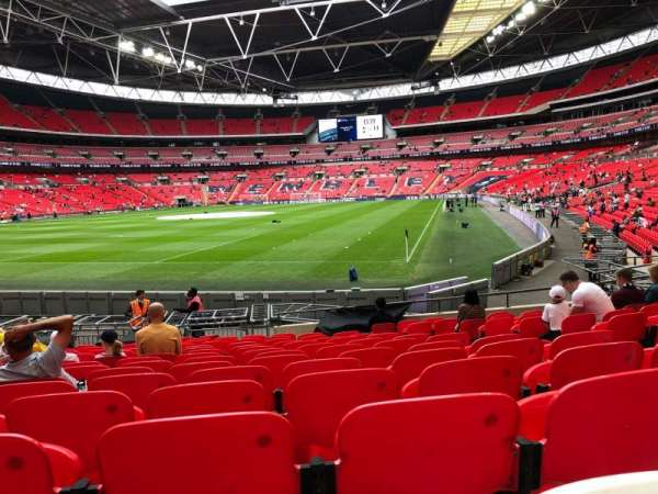 Wembley Stadium, section: 108, row: 16, seat: 182
