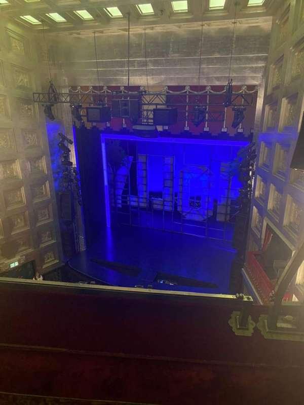 Savoy Theatre, section: Grand Circle, row: B, seat: 1