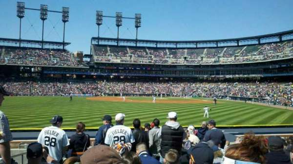 Comerica Park, section: 149, row: N, seat: 23