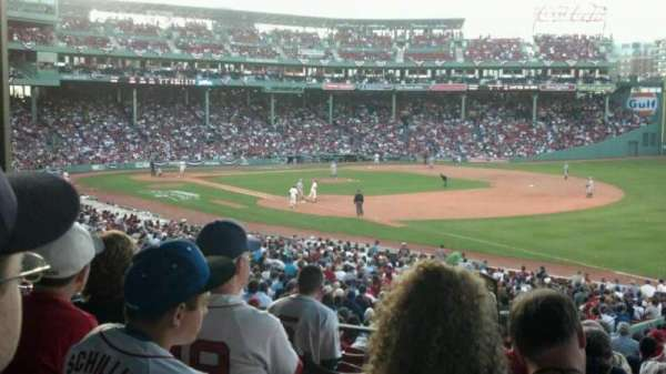 Fenway Park, section: Grandstand 10, row: 5, seat: 10
