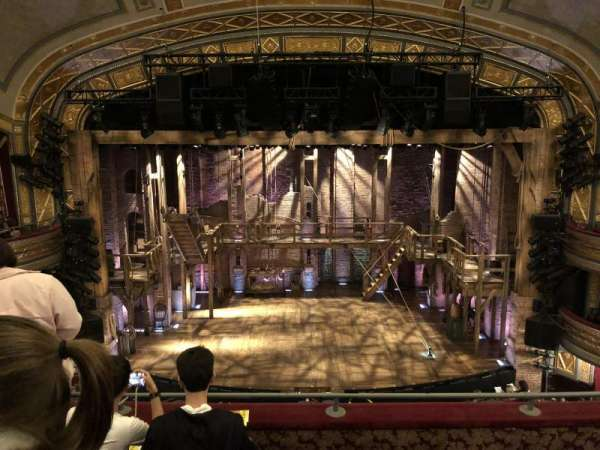 Richard Rodgers Theatre, section: Front Mezzanine C, row: D, seat: 108