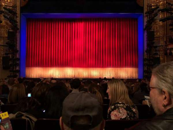 Longacre Theatre, section: Orchestra C, row: O, seat: 107