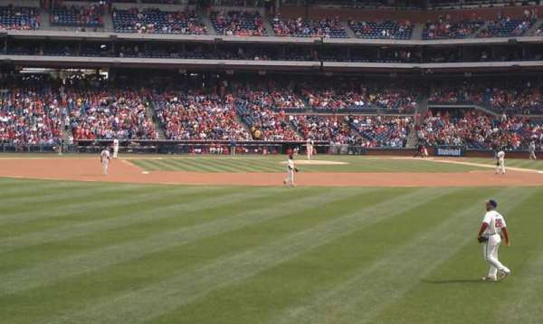 Citizens Bank Park, section: 144, row: 1, seat: 5