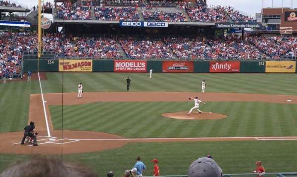 Citizens Bank Park, section: 120, row: 26, seat: 3