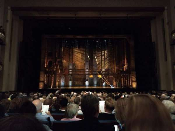 Belk Theater, section: Orchestra Center, row: O, seat: 308