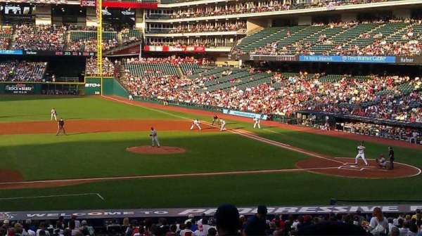 Progressive Field, section: 262, row: c, seat: 11