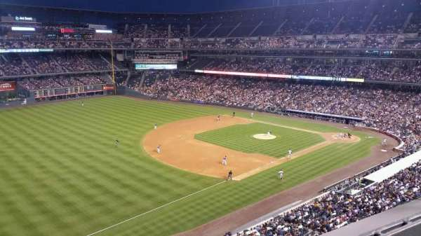 Coors Field, section: L345, row: 1, seat: 5