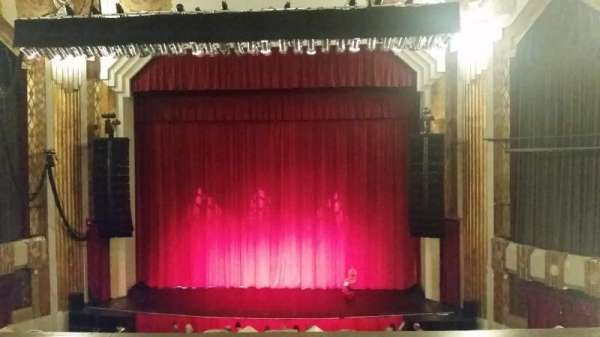 Paramount Theatre (Seattle), section: Mezzanine R, row: B, seat: 5