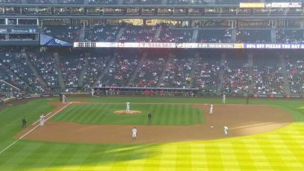 Coors Field, section: 206, row: 14, seat: 17