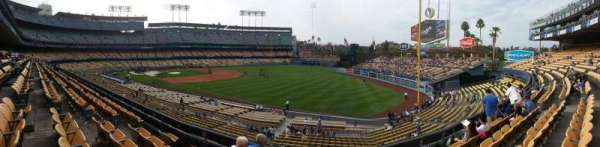 Dodger Stadium, section: 158LG, row: E, seat: 9