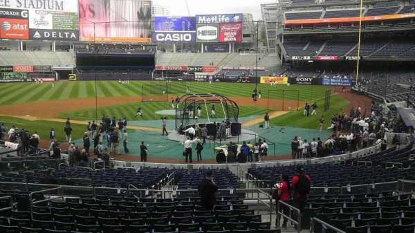 Yankee Stadium, section: 419, row: 12, seat: 19