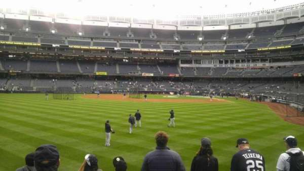 Yankee Stadium, section: 136, row: 12, seat: 19
