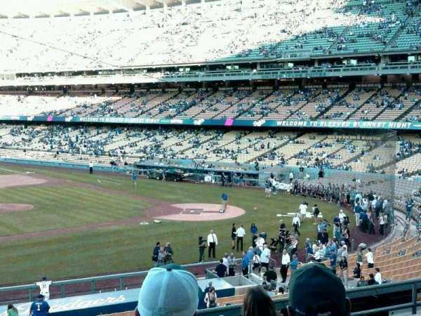 Dodger Stadium, section: 133LG, row: G, seat: 6