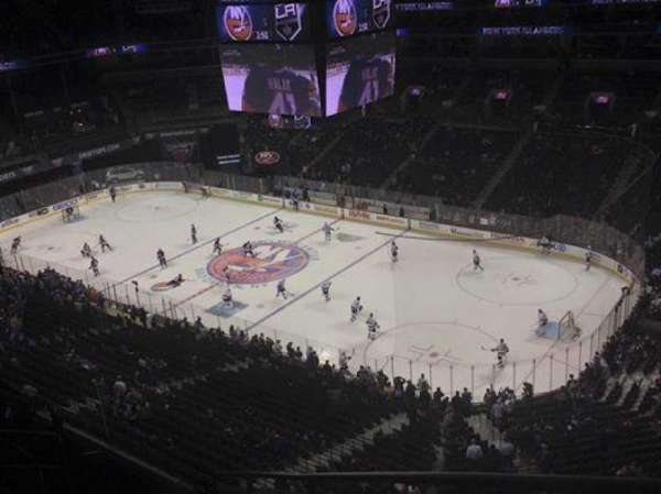 Barclays Center, section: 221, row: 8, seat: 1