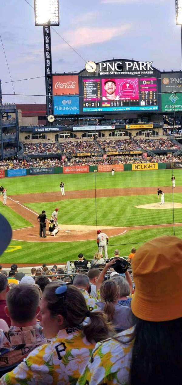 PNC Park, section: 114, row: R, seat: 17