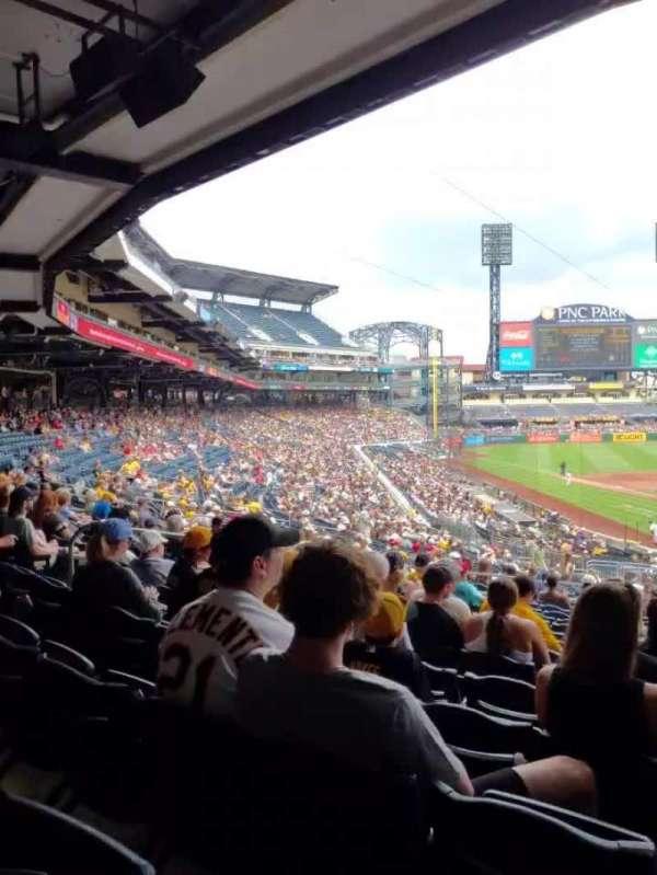 PNC Park, section: 116, row: DD, seat: 3