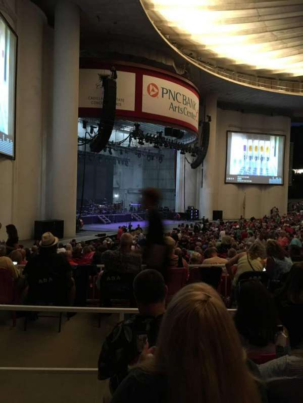 PNC Bank Arts Center, section: 204, row: D, seat: 59