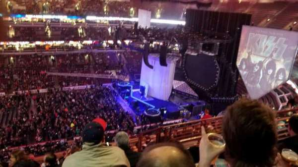 United Center, section: 301, row: k, seat: 4-8