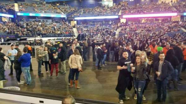 Allstate Arena, section: 111, row: DD, seat: 23-25