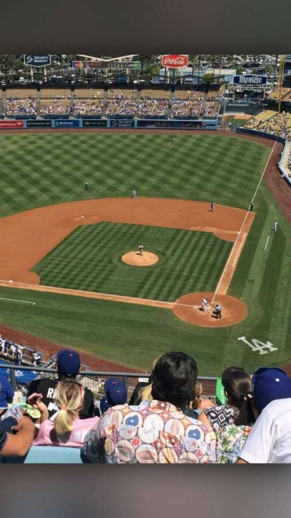 Dodger Stadium, section: 7TD, row: M, seat: 11