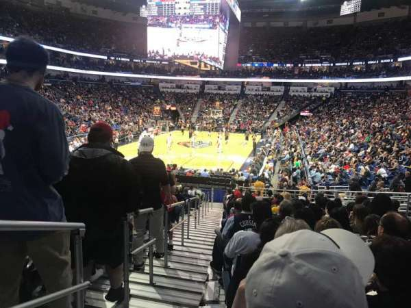 Smoothie King Center, section: 117, row: 22, seat: 17