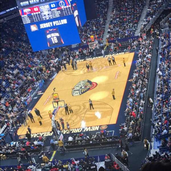 Smoothie King Center, section: 306, row: 16, seat: 11