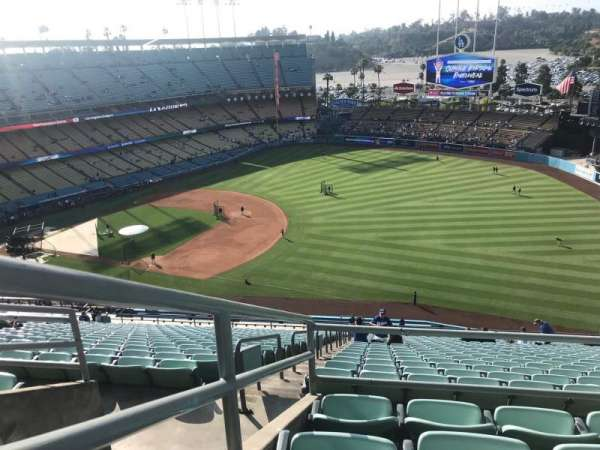 Dodger Stadium, section: 30RS, row: DD, seat: 14