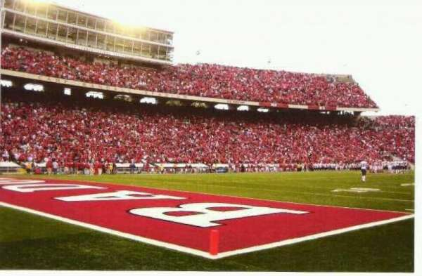 Camp Randall Stadium, section: Y1