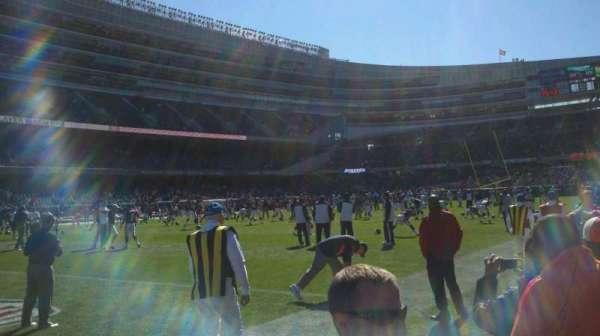 Soldier Field, section: field, nw corner