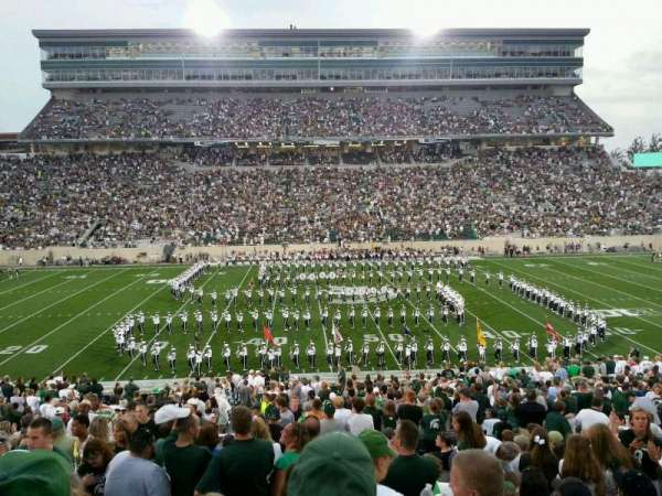 Spartan Stadium, section: 9, row: 41, seat: 15