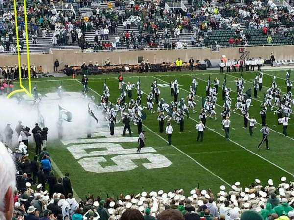 Spartan Stadium, section: 28, row: 45, seat: 27