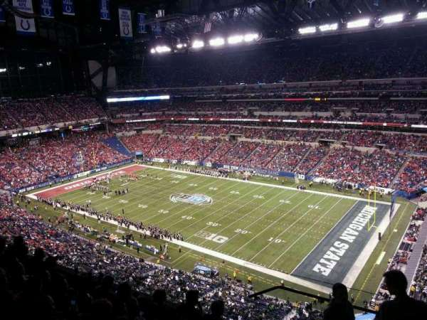 Lucas Oil Stadium, section: 635, row: 6, seat: 1