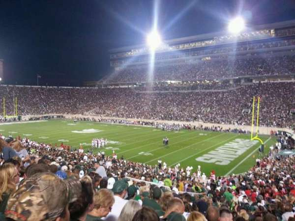 Spartan Stadium, section: 5, row: 41, seat: 25
