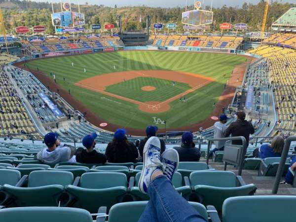Dodger Stadium, section: 3RS, row: M, seat: 2
