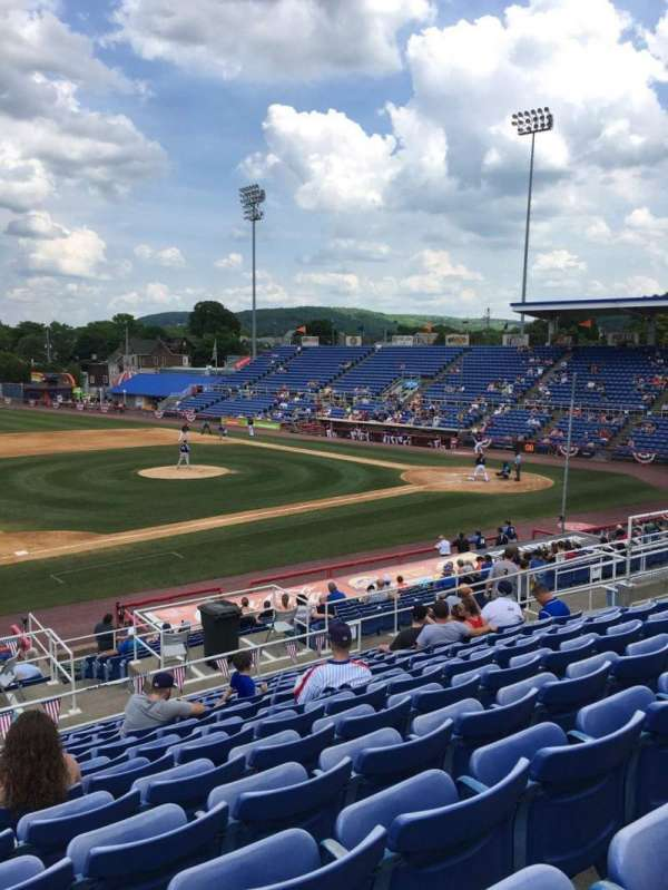 NYSEG Stadium, section: 109, row: W, seat: 24