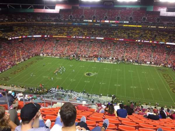 FedEx Field, section: 426, row: 19, seat: 21