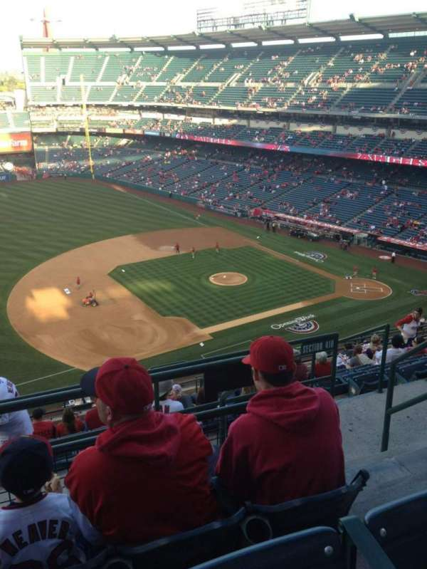 Angel Stadium, section: V511, row: C, seat: 23