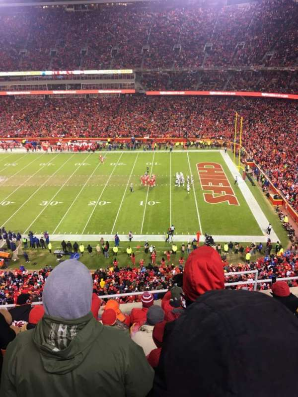 Arrowhead Stadium, section: 344, row: 7, seat: 3