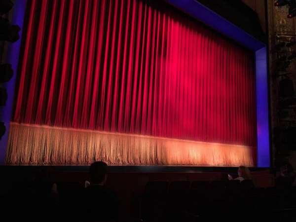Longacre Theatre, section: ORCHO, row: G, seat: 6