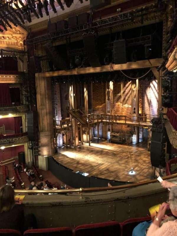 CIBC Theatre, section: Mezz R, row: D, seat: 16