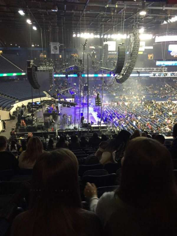 Allstate Arena, section: 204, row: N, seat: 11
