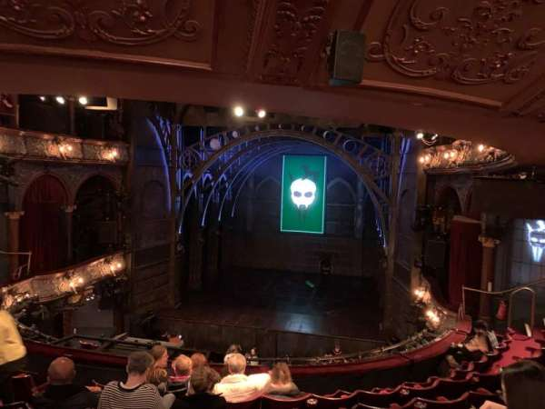 Palace Theatre (West End), section: Dress Circle, row: G, seat: 12