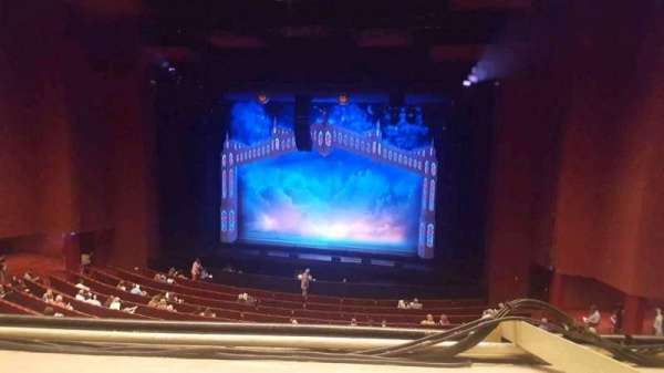 San Diego Civic Theatre, section: mezzanine, row: O, seat: 24