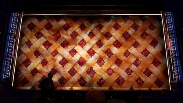 Brooks Atkinson Theatre, section: Orchestra C, row: h, seat: 108