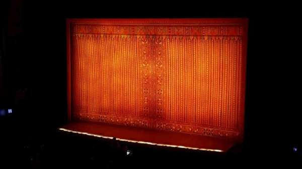 Hollywood Pantages Theatre, section: mezz, row: f, seat: 2